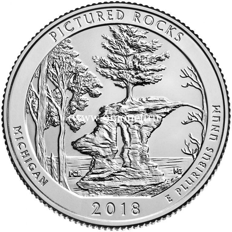 25 центов 2018 года 41 парк