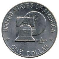 1976г. 1 доллар. США. Колокол свободы.
