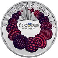 Украина 5 гривен 2017 года Евровидение 2017
