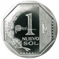 Перу 1 соль 2014 года Новый соль.