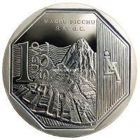 Перу 1 соль 2011 года Мачу-Пикчу