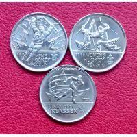 Канада 25 центов 2009 набор монет олимпиада в Ванкувере.