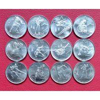Канада 25 центов набор 12 монет олимпиада в Ванкувере