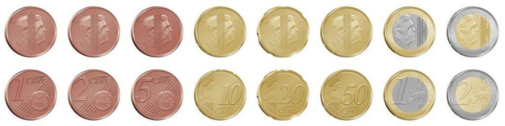 Годовой набор монет евро Нидерланды 2015