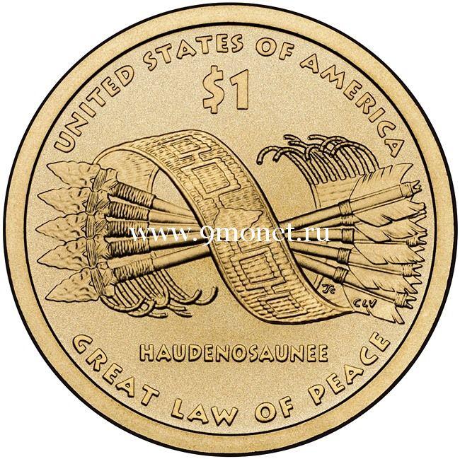Великое Дерево Мира 1 доллар США 2010