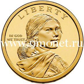 Договор с Делаварами 1778 года 1 доллар США 2013