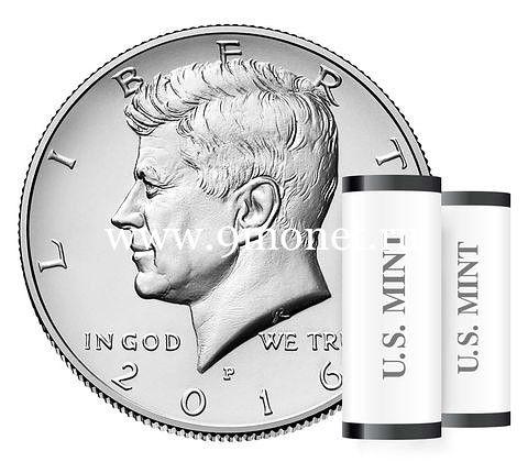 США 50 центов 2016 года Кеннеди Half Dollar P - Филадельфия