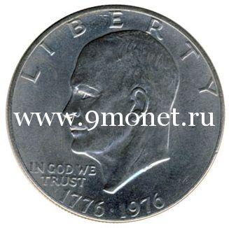 США 1 доллар 1976 года Колокол свободы.