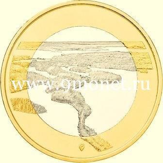 Финляндия 5 евро 2018 года Пункахарью.