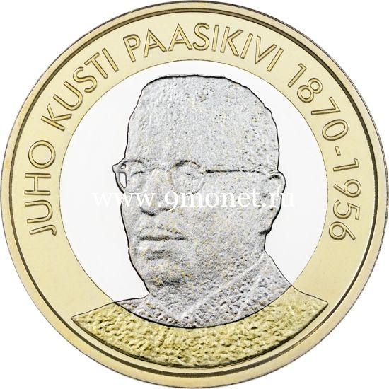 Финляндия 5 евро 2017 года Юхо Кусти Паасикиви