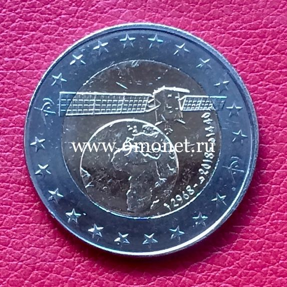 Алжир 100 динар 2018 года Спутник.
