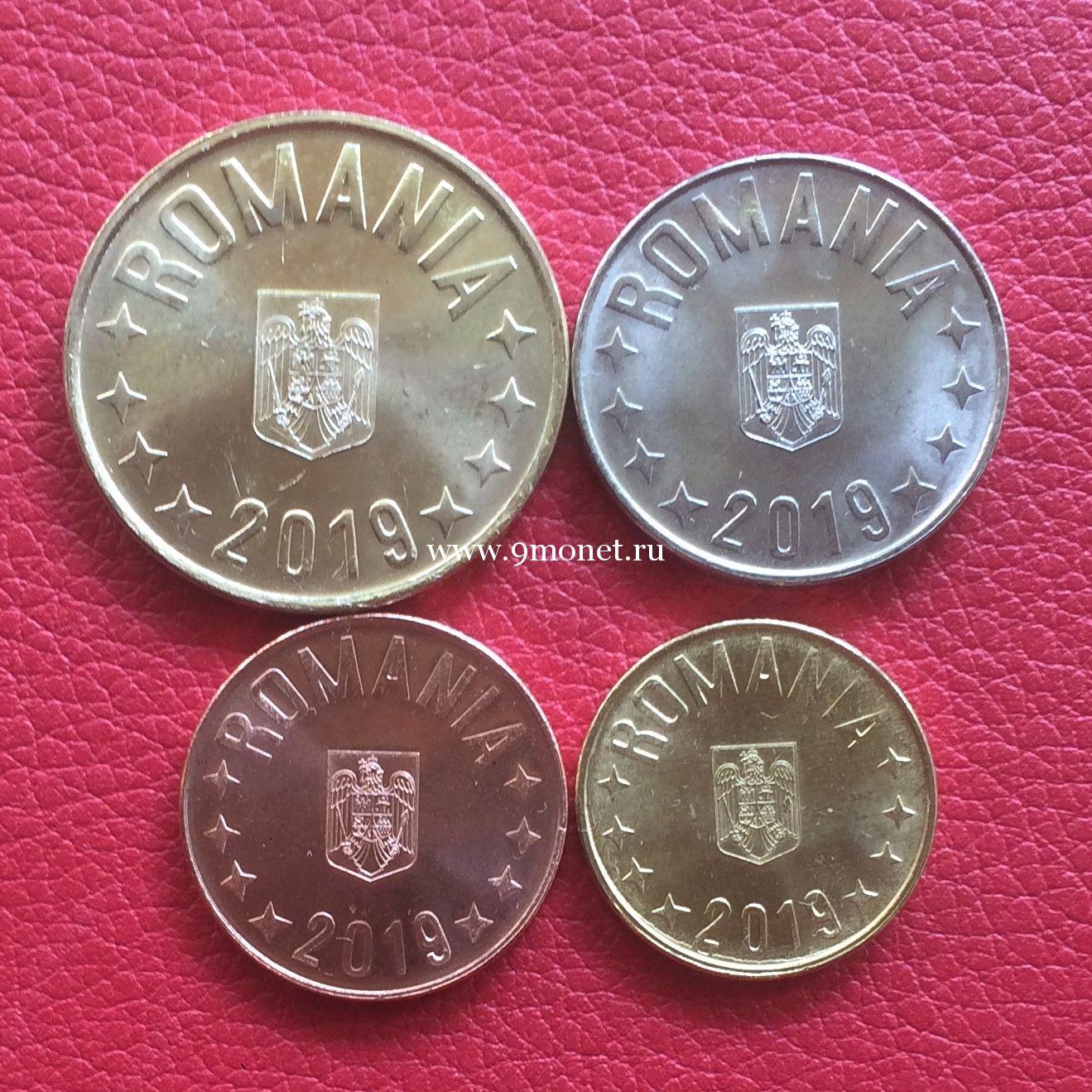 Румыния годовой набор монет 2019 года новый герб