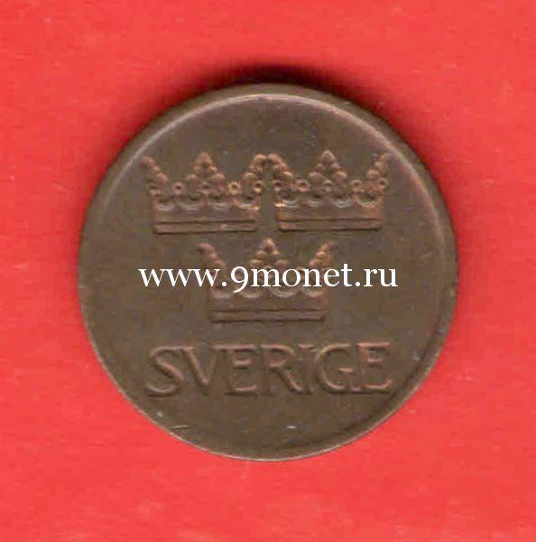 Швеция 5 эре 1972 года.