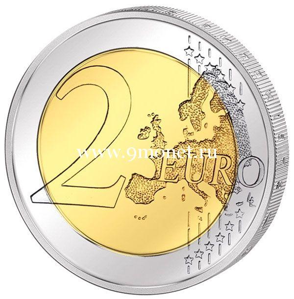 Бельгия 2 евро 2020 года Международный год охраны здоровья растений.