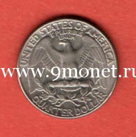 США 25 центов 1987 года D - Денвер