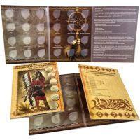 Альбом Юбилейные 25-ти центовые монеты США (штаты, территории и парки).