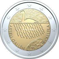 Финляндия 2 евро 2015 Аксели Галлен-Каллел.