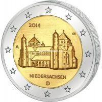 2014г. 2 евро. Германия. Нижняя Саксония