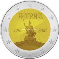 2016 год. Ирландия. Монета 2 евро. 100-летие Пасхального восстания.