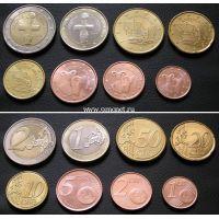 Годовой набор монет евро. Кипр. 2015