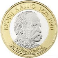 Финляндия 5 Евро 2016 Кюёсти Каллио.