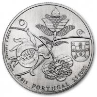 2015 год. Португалия монета 2.5 евро. UNC. Покрывала из Каштелу-Бранку.