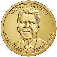 40 президент США 2016 год. Рональд Рейган.