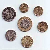 Набор монет Казахстана (7 монет), 1997-2012 гг.