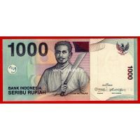 Индонезия 1000 рупий 2011 года.