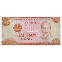 Вьетнам. 200 донгов. 1987 год.
