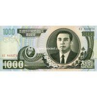 2006 год. Корея Северная. Банкнота 1000 вон. UNC