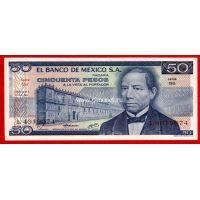 Мексика 50 песо 1981 года.