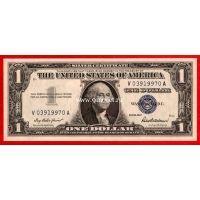 1957 год. США. Банкнота 1 доллар. UNC