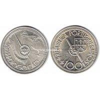 Португалия 100 эскудо 1987 года Диогу Кан.