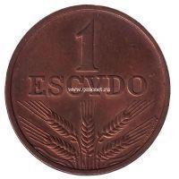 "1988 год. Португалия. Монета 100 Эскудо ""Бартоломеу Диаш"""