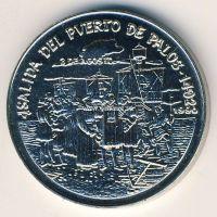 1990г. Куба. 1 Песо. Открытие Америки.