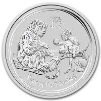 2016г. Австралия. 1 доллар.(Год Обезьяны. серебро. 1 унция)