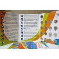 Бразилия. набор из 17 монет 1 реал в Подарочном альбоме. Олимпиада в Рио де Жанейро 2016 года.