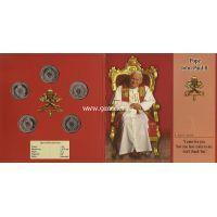 Редкий набор монет. Papa Giovanni Paolo II
