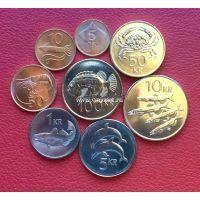 Исландия. Набор 8 монет.
