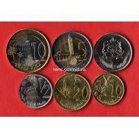 2011-2016 год. Марокко. Набор 8 монет.