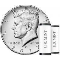2017 год. США монета 50 центов. Кеннеди. UNC.