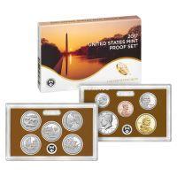2017 год. США годовой набор 10 монет. Proof Set