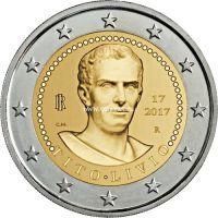 Италия 2 евро 2017 года Тит Ливий