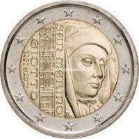 2017 год. Сан-Марино монета 2 евро. Джотто ди Бондоне.
