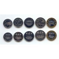 Набор монет Сирии. 5 монет.
