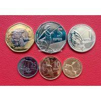 2016 год. Сейшельские острова. Набор 6 монет.