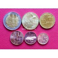 2006 год. Азербайджан набор 6 монет.