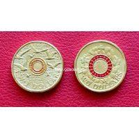 Австралия 2 доллара 2015 День памяти (цветные)