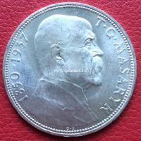 Монета Чехословакии 20 крон 1937 года.